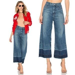 """SIWY """"May"""" Wide Leg Jean Frayed High Rise"""